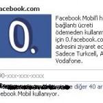 Facebook'a Ücretsiz Bağlan