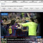 Bursaspor UEFA Manşeti