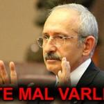 Kemal Kılıçdaroğlunun Mal Varlığı