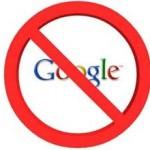 Google Yasağına Protesto