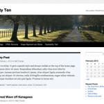 Wordpress 3.0 Default Tema