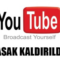 Youtube Yasak Kaldırıldı