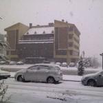 Nevşehir'de Kar Yağıyor
