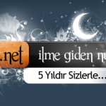 ilkvahiy.net İçin 5. Yıl Logosu