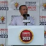 Recep Tayyip Erdoğan Nevşehir'de