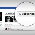 Facebook Abonelik Sistemi