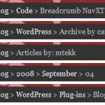 Wordpress Breadcrumbs Eklentisi