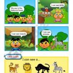 Abaküsment Mental İngilizce Level 1 Kitap Tasarımı