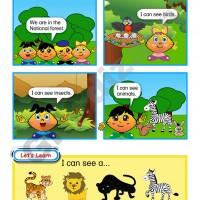 Abaküsment Mental İngilizce Level 1 - Sayfa 57