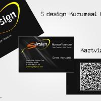 S design Kurumsal Kimlik çalışması - Tamamen hayal ürünüdür - Tasarım: Ahmet Genç'e aittir.