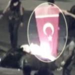 Ethem Sarısülük Türk Bayrağını Yaktı
