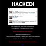 CHP'nin sitesi hacklendi !