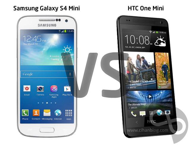 HTC One Mini mi Samsung Galaxy S4 Mini mi ?