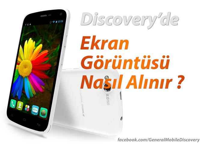 Discovery Ekran Görüntüsü Almak