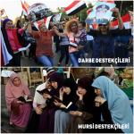 Darbe destekçisi kadınlar(!)