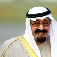 File photo of Saudi Arabia's King Abdullah, rumoured to be invited to Prince William and Kate Middleton's wedding