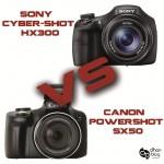 Canon PowerShot SX50 ve Sony Cyber-Shot HX300 İnceleme/Karşılaştırma
