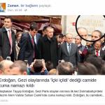 Recep Tayyip Erdoğan İçki İçilen Camide Namaz Kılmış