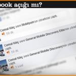 Bu bir Facebook açığı mı?