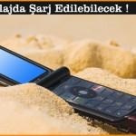 Telefonlar Plajda Şarj Edilebilecek !